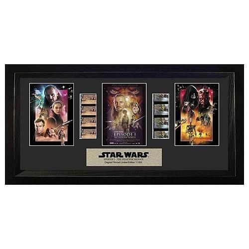 Star Wars Phantom Menace Trio By Film Cells