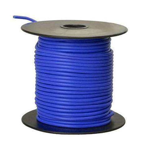 Southwire 55668223 Primary Wire, 16-Gauge Bulk Spool, 100-Feet, Blue ...