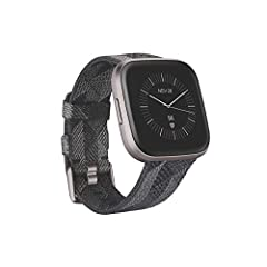 Meet Fitbit Versa 2-a smartwatch that elevates every moment. Use your voice to create alarms, set bedtime Reminders or check The weather with Amazon Alexa built-in. Take your look from the gym to the office with its modern and versatile desig...