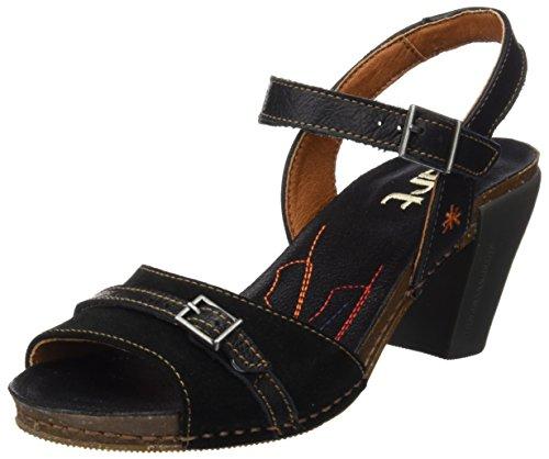 con Cinturino Nero Art Feel Black Donna T Memphis i 0226 Tacco a Scarpe col qR0a6q