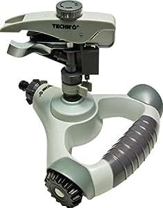 Techno 55933 aspersor Canon sobre base nivelante ruedas aluminio 23x 23x 20cm