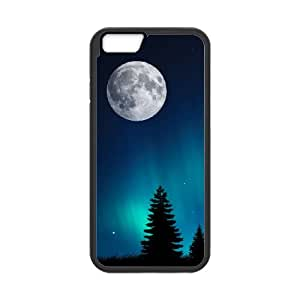 iPhone 6 Plus 5.5 Inch Cell Phone Case Covers Black Aurora Borealis Y3417615