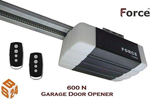 Force FS 600 Garagentorantrieb Serie 2 Set inkl. 2 Handsender und Schiene - elektrischer Torantrieb