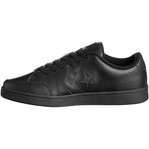 Unisex Scarpe – black Star Nero Converse Ox Lifestyle Adulto Fitness Leather black Court black Da 001 qw8gq