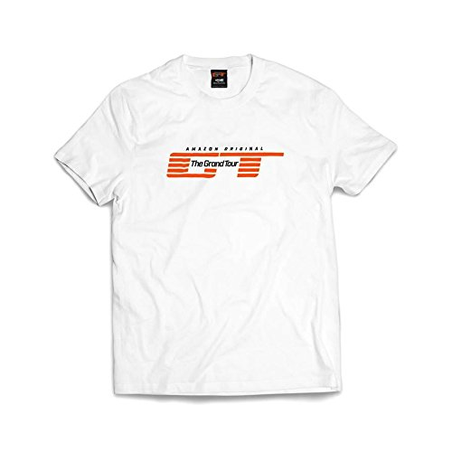 Price comparison product image New! Official 'The Grand Tour' logo T-shirt. White. Large