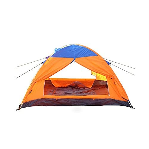 Tente Campante Extérieure, Matériel De Camping Double Tente De Plage à Ouverture Rapide Chalet Transportable Imperméable Tente Uv