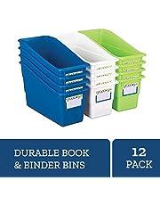 Really Good Stuff Magazine File Book & Folder Holders - Stars & Stripes 12-Pack
