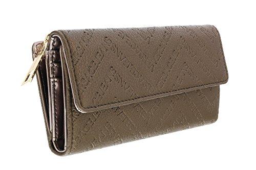 Versace EE3VOBPW3 E899 Taupe Multifunction Wallet