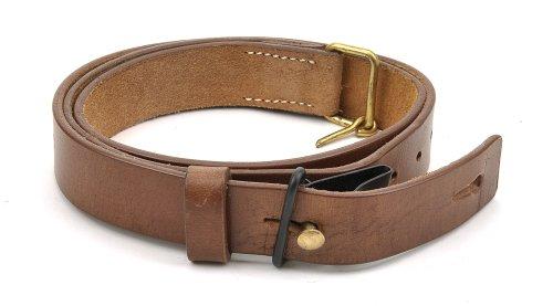 - World War Supply SWEDISH 6.5 X 55 MAUSER SLING M96/M38 Premium Drum Dyed Leather
