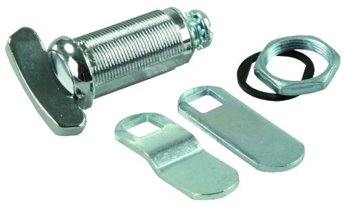 - JR Products 00145 1 and 3/8 inches Compartment Door Thumb Lock