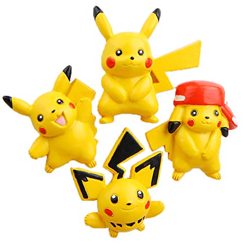 Cute 3D Pikachu Magnets for Pokemon Game Lovers, Creative Cartoon Magnets for Adult, Home and office/White Board]()