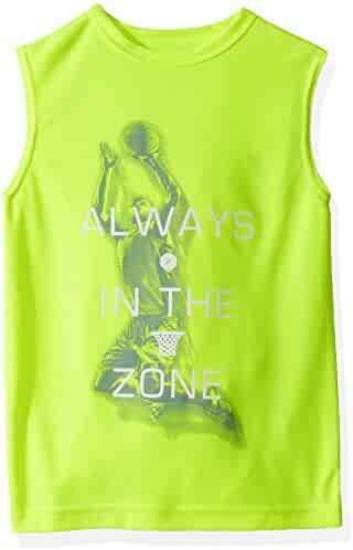 The Children's Place Boys' Graphic Active Muscle Top
