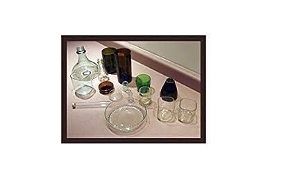 Botella de vidrio (cortador cortador de máquina de cortar botellas - para botella de vino, botella de vino de cristal de corte - Ephrem de Original: ...