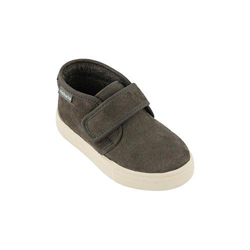 VICTORIA Stiefel mit Klettverschluss 025053 Kinder Schuhe Grau