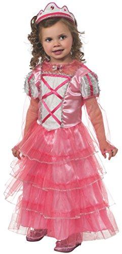 [Rubie's Costume Baby Girl's Little Miss Frilly Toddler Costume, Multi, Toddler] (Little Vampire Costume)