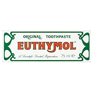 Euthymol original toothpaste 75ml home kitchen - Keep toothpaste kitchen ...