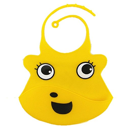 willtoo-cartoon-baby-skin-aprons-eat-solid-convenient-silicone-waterproofing-aprons-bib-yellow-
