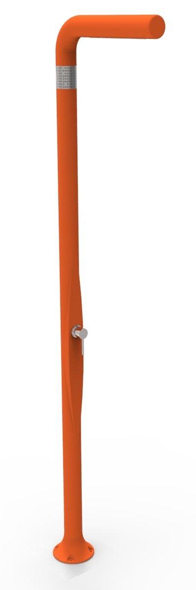 Ducha Classic A Doble Entrada Agua Caliente y fría arkema Funny Yang (poletilene HD ducha para interior y exterior con mezclador arkema T2052009Naranja