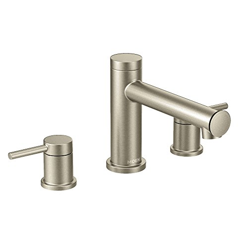 - Moen T393BN Align Two-Handle Non Diverter Roman Tub Faucet, Brushed Nickel
