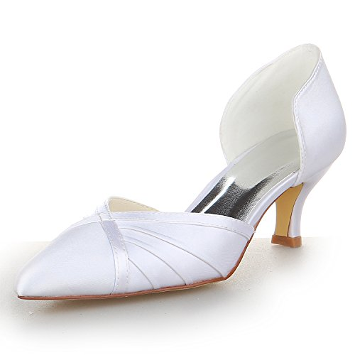 Puntera Bajo Mujeres Las de 5355 Tal Novia JIA de Zapatos JIA AZ7qP7