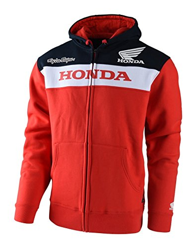 Troy Lee Designs Official Licensed Honda Zip Up Fleece (X-Large, ()