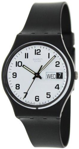 Swatch Women's GB743 Once Again Black Plastic - Women's Swatch