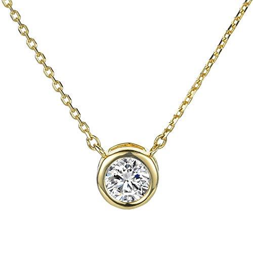 ckaging Grand Twirl 925 Sterling Silver Premium Necklaces - Gold - S1522G (David Yurman Topaz Bracelet)