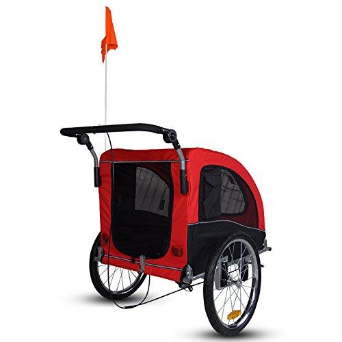 Kinbor New Pet Dog Bike Stroller Bicycle Trailer Amp Jogging