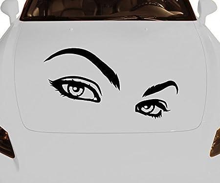 Pegatina de Coche Mujer Sexy Sentimientos Ojos Tatuaje Amor Auto ...