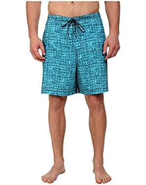 Mens Abstract Print Swim Bottom Board Shorts