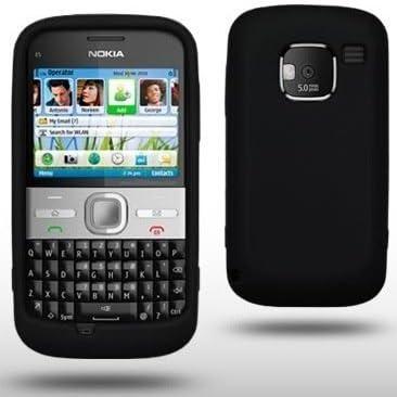 Nokia E5 - Movistar-España-Smartphone Libre-teclado QWERTY ...