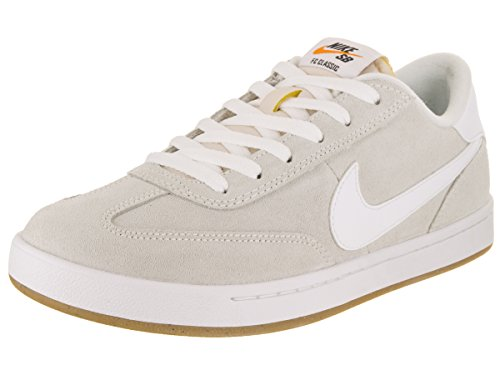 Nike Fc Shoe (NIKE Men's SB FC Classic Summit White/Summit White Skate Shoe 9 Men US)