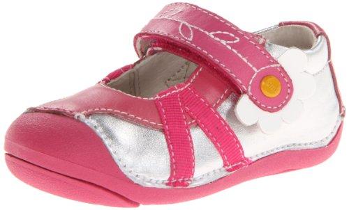 UMI Cassia - Zapatos de primeros pasos Bebé-Niñas Silver Multi