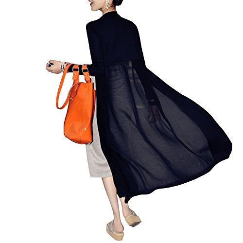 Femme Unique Eleery Blanc Noir Beige Manteau Taille 5STWOPHq1T