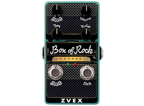 ZVex Effects Vertical Vexter Box of Rock Distortion Guitar Effects Pedal (Best Overdrive Pedal For Rock)