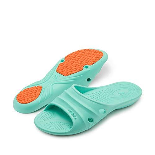 Mujer Baño De Interiores Casa Cuarto b 37 Zapatillas Vieja Antideslizantes Bañera La aIqxUwx16