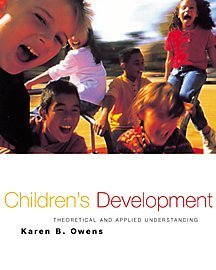Child and Adolescent Development: An Integrated Approach...