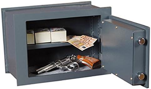 Bulla cw270 caja fuerte de empotrar de acero para dinero pistolas ...