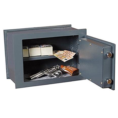 Bulla cw270 caja fuerte de empotrar de acero para dinero pistolas armas y documentos: Amazon.es: Deportes y aire libre