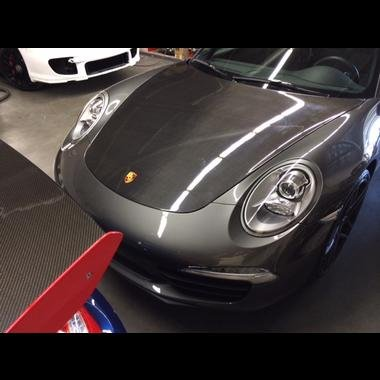 Porsche Carbon Fiber Hood - 2012-2014 Porsche 991 CARBON FIBER Hood fits Porsche 991 Carrera, C2, C4, C4S