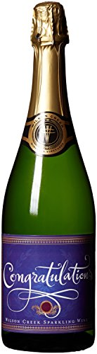 NV Wilson Creek Almond Sparkling Congratulations Edition 750mL (Wilson Creek Almond)