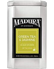 Madura Green and Jasmine 40 Leaf Infusers in Tea Caddy, 1 x 72 g