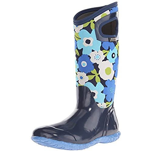 Bogs Women's North Hampton Spring Flowers Waterproof Insulated Boot save more