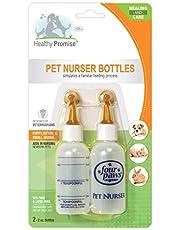 Four Paws Pet Nurser Bottles, 2 oz