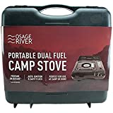 Osage River Portable Dual Fuel Camp Stove. Osage River Dual Fuel Portable Propane & Butane Camping and Backpacking Gas Stove Burner with Carrying Case