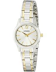 Citizen Womens Quartz Watch with Date, EL3034-58A