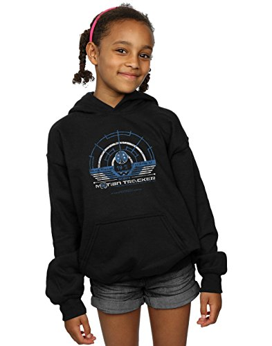 Price comparison product image Alex Chenery Girls Weyland Yutani Tracker Hoodie Black 12-13 years