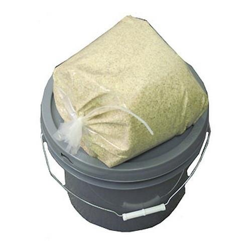 Frankford Arsenal 15 lb Corn Cob Media in 3 1/2 Gallon Bucket for Tumbler, Reloading and Shooting Bags by Frankford Arsenal