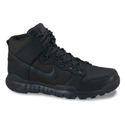 Nike SB Dunk High Boot (11 D(M) US Men, Black/Black)