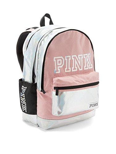 VICTORIA SECRET PINK TYE DYE ROSE PETAL CUPID PINK CAMPUS BACKPACK ~NEW!